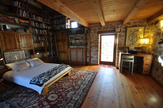 Library Bedroom, Plenty Of Books To Challenge, Intrigue, Please, Provoke .